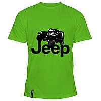 Мужская футболка - Jeep Rubicon, отличный подарок купить со скидкой, недорого