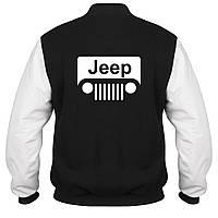 Куртка - бомбер - Jeep, отличный подарок купить со скидкой, недорого