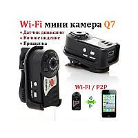 HD WiFi camera Q7 wifi камера IP камера датчик движения Wi-Fi/P2P