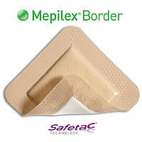 Molnlycke Mepilex Border самоклеющаяся сорбционная повязка стерильная 12,5 х 12,5 см