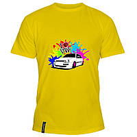 Мужская футболка - i love volkswagen, отличный подарок купить со скидкой, недорого