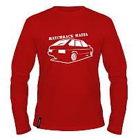 Лонгслив мужской - Hatchback Mafia, отличный подарок купить со скидкой, недорого