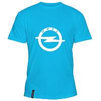 Мужская футболка - Опель, отличный подарок купить со скидкой, недорого
