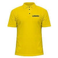 Мужская футболка Поло - Renault Logan, отличный подарок купить со скидкой, недорого