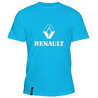 Мужская футболка - Рено, отличный подарок купить со скидкой, недорого