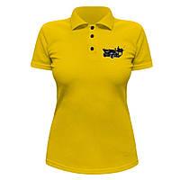 Женская футболка Поло - Brabus Mercedes Widestar, отличный подарок купить со скидкой, недорого