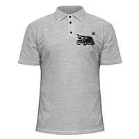 Мужская футболка Поло - Brabus Mercedes Gelandewagen, отличный подарок купить со скидкой, недорого