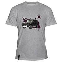 Мужская футболка - Brabus Mercedes Gelandewagen, отличный подарок купить со скидкой, недорого