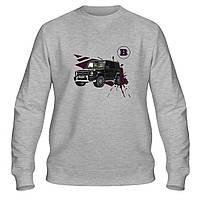 Свитшот мужской - Brabus Mercedes Gelandewagen, отличный подарок купить со скидкой, недорого