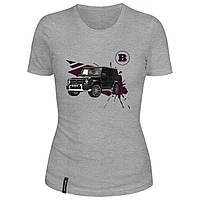 Женская футболка - Brabus Mercedes Gelandewagen, отличный подарок купить со скидкой, недорого