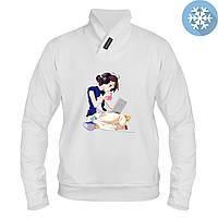 Толстовка утепленная - Девочка с ноут аниме, отличный подарок купить со скидкой, недорого