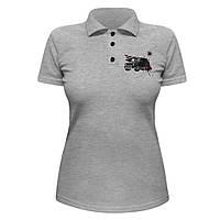 Женская футболка Поло - Brabus Mercedes Gelandewagen, отличный подарок купить со скидкой, недорого