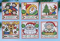 """Набор для вышивания крестом """"Holiday Tags//Праздники"""" Design Works"""