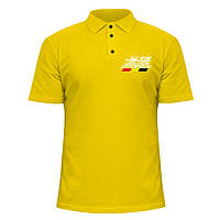Мужская футболка Поло - Mugen Power, отличный подарок купить со скидкой, недорого