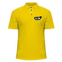 Мужская футболка Поло - Mercedes AMG, отличный подарок купить со скидкой, недорого