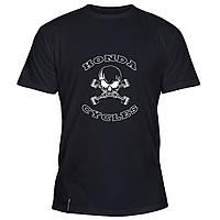 Мужская футболка - Honda Cycles, отличный подарок купить со скидкой, недорого