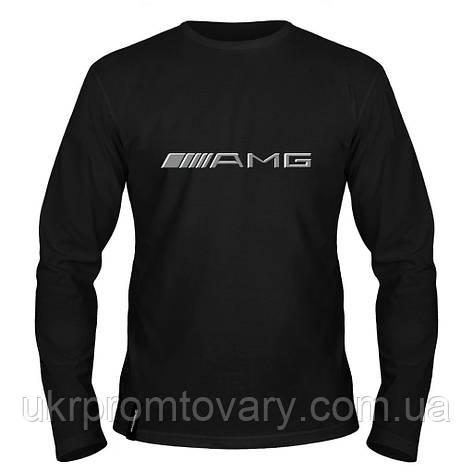 Лонгслив мужской - AMG, отличный подарок купить со скидкой, недорого, фото 2