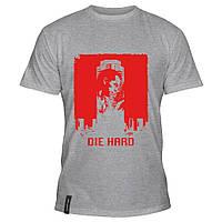 Мужская футболка - Die Hard, отличный подарок купить со скидкой, недорого