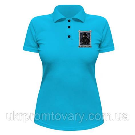 Женская футболка Поло - Шерлок Холмс, отличный подарок купить со скидкой, недорого, фото 2