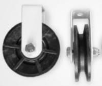 Блок-ролик 58 мм (ролик для бельевой веревки)