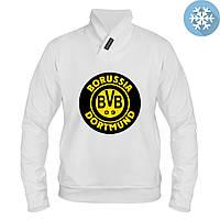 Толстовка утепленная - Borussia Dortmund, отличный подарок купить со скидкой, недорого