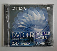 TDK DVD+R DL 8,5Gb 2,4x