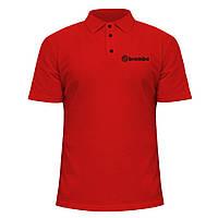 Мужская футболка Поло - Brembo, отличный подарок купить со скидкой, недорого