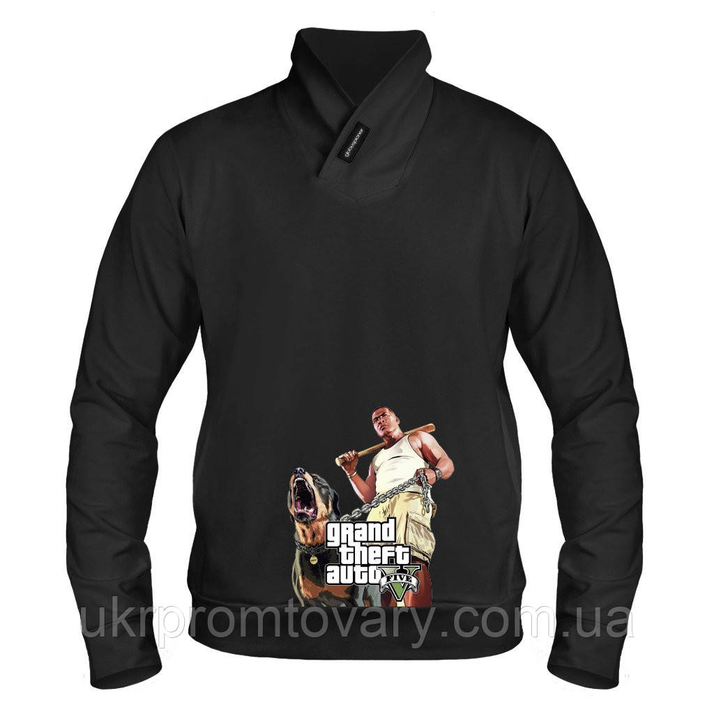 Толстовка - Grand Theft Auto V, отличный подарок купить со скидкой, недорого