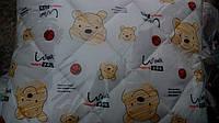 Детский набор одеяло и подушка силикон Винни Пух