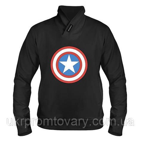 Толстовка - Captain America, отличный подарок купить со скидкой, недорого, фото 2