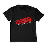 Футболка детская - Depeche Mode Wrong, отличный подарок купить со скидкой, недорого