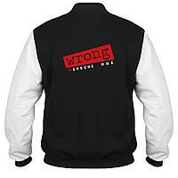 Куртка - бомбер - Depeche Mode Wrong, отличный подарок купить со скидкой, недорого