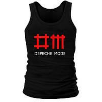 Майка мужская (хлопок) - Depeche Mode, отличный подарок купить со скидкой, недорого