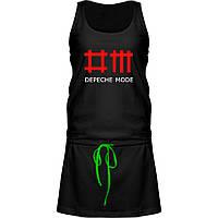 Платье - Depeche Mode, отличный подарок купить со скидкой, недорого
