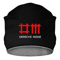 Шапка - Depeche Mode, отличный подарок купить со скидкой, недорого