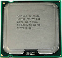 Intel Core 2 Duo E7400 2.80GHz/4M/1066
