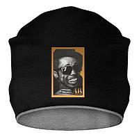 Шапка - Lil Wayne face, отличный подарок купить со скидкой, недорого