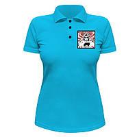 Женская футболка Поло - Lil Wayne, отличный подарок купить со скидкой, недорого