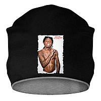 Шапка - Lil Wayne, отличный подарок купить со скидкой, недорого