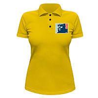 Женская футболка Поло - Рик Росс Maybach Music, отличный подарок купить со скидкой, недорого