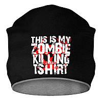 Шапка - This is my zombie killing t-shirt, отличный подарок купить со скидкой, недорого