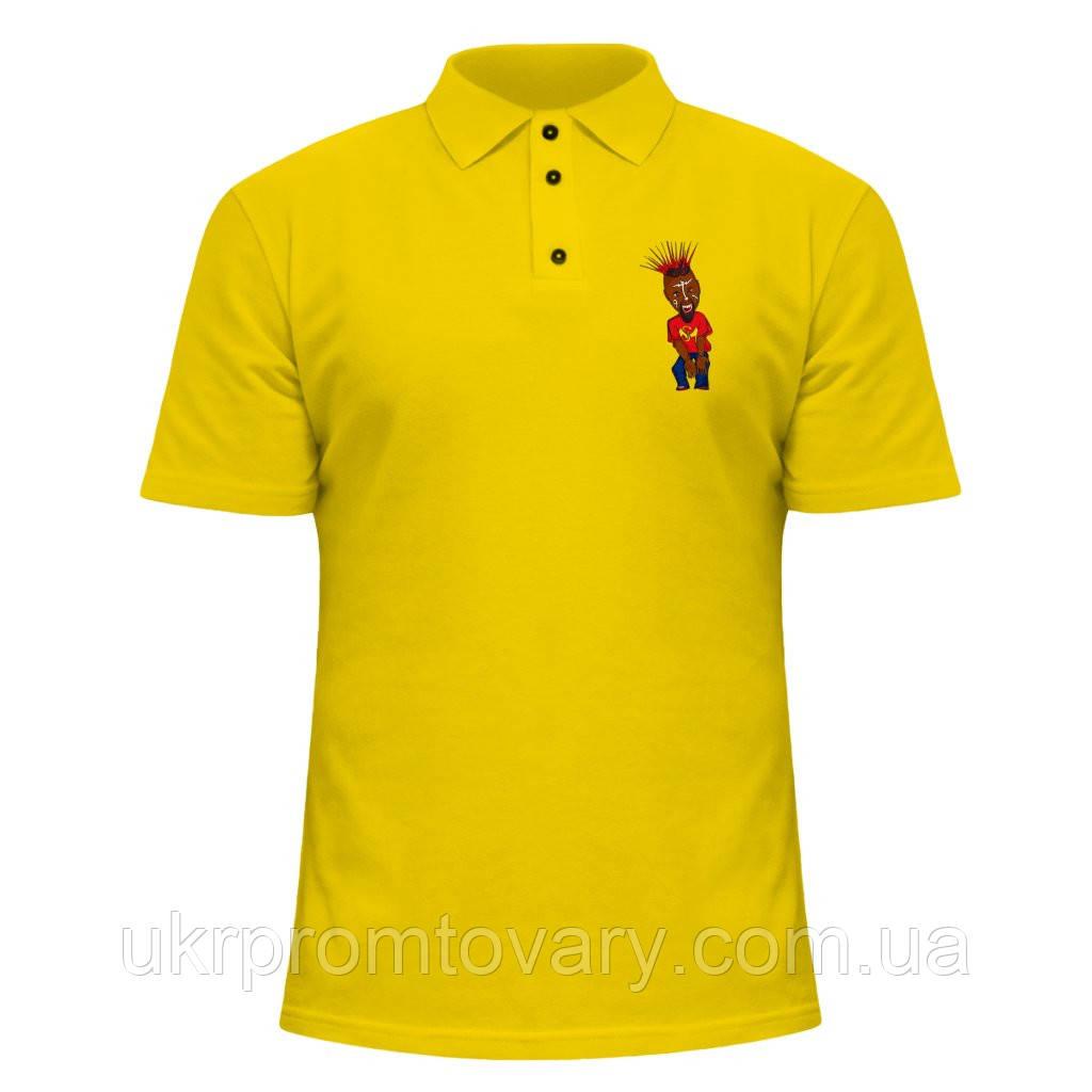 Мужская футболка Поло - Tech N9ne Cartoon, отличный подарок купить со скидкой, недорого