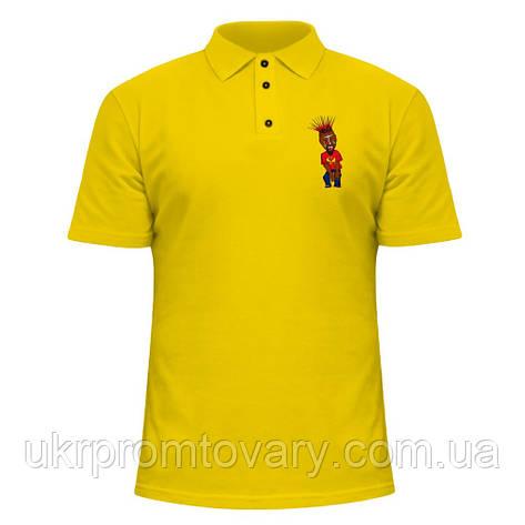 Мужская футболка Поло - Tech N9ne Cartoon, отличный подарок купить со скидкой, недорого, фото 2