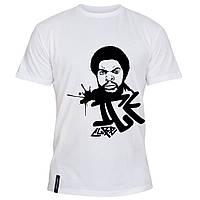 Мужская футболка - Ice cube, отличный подарок купить со скидкой, недорого