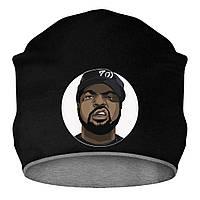 Шапка - Ice Cube, отличный подарок купить со скидкой, недорого