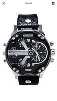 Мужские часы Dz Brave (Дизель Брейв), копия Daddy white DZ7315