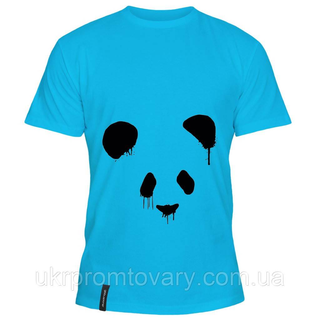 Мужская футболка - панда, отличный подарок купить со скидкой, недорого