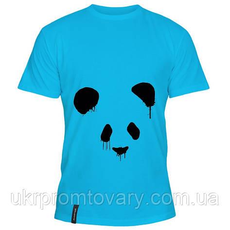 Мужская футболка - панда, отличный подарок купить со скидкой, недорого, фото 2
