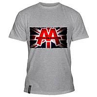Мужская футболка - Asking Alexandria reckless &amp- relentless, отличный подарок купить со скидкой, недорого
