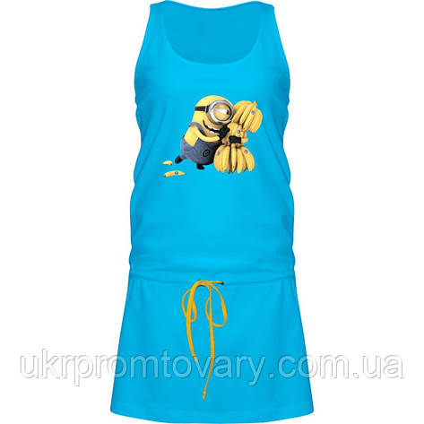 Платье - Minions banana, отличный подарок купить со скидкой, недорого, фото 2